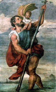 San Cristobal de Licia. Patrono de los viajeros
