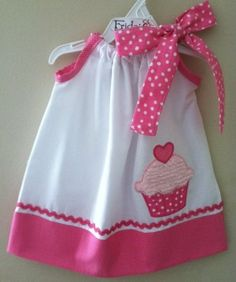 Adorable New Cupcake pillowcase style dress by fridascloset1, $25.00 by marjorie
