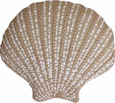 Sea Shell Shaped Pillow: http://www.completely-coastal.com/p/coastal-sale-island.html... with a bit of glam. On sale for $24.49