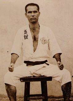 Grandmaster Taika Oyata Soke who was Grandmanster Dillman's teacher.