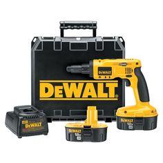 DEWALT 18-Volt Ni-Cad Cordless Steel Framing Screwdriver