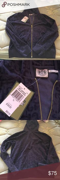 Purple Juicy Couture Track Suit NEVER WORN! The top is a XL and the bottoms are L. Juicy Couture Other
