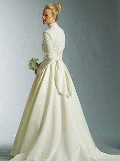 Modéstia, Pureza e Bons Costumes: Vestidos de Noiva decentes