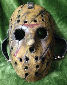 friday the 13th jason voorhees hockey mask frighteousfx