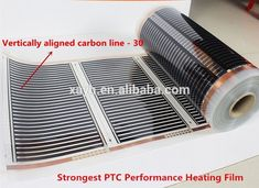 Best For Indoor Floor Heating Film Energy Saving 110W Far Infrared Carbon Heating Film #Setupasimplefinemotoractivitytoworkonletterrecognition