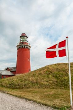 Bovbjerg Lighthouse, Denmark