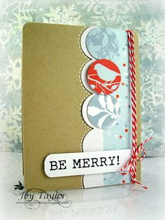 Be Merry holiday card.