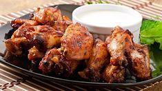 Πανεύκολη μους λεμόνι με γιαούρτι και μπισκότα -Το δροσερό επιδόρπιο που φτιάχνεται στο λεπτό | BOVARY Barbecue Chicken, Marinated Chicken, Japanese Chicken Wings, Vinaigrette, Baked Chicken Wings, Yum Yum Chicken, Ranch Dressing, Chicken Recipes, Sweets