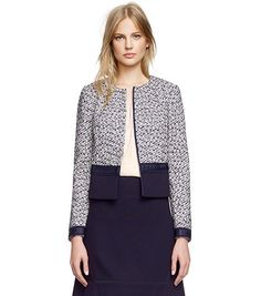 Tory Burch Lucille Jacket : Women's New Arrivals | Tory Burch