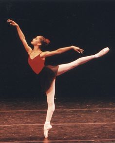 18 year old Misty Copeland in the final performance of ABT's Summer Intensive Program in 2000.