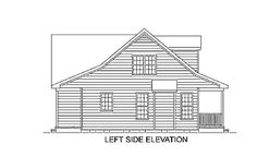 1660 square feet, 3 bedrooms, 2 batrooms, on 1 levels, House Plan Number 3