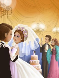 Nina De San Wedding Illustration, Fun Illustration, Illustrations, Just Married, Getting Married, Creation Photo, Art Themes, Art Graphique, Cute Images