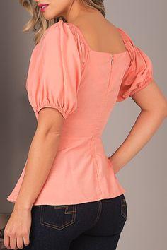 891cc3e639 blusa rosada campesina espalda. Palet La Mejor Ropa Online en Ecuador