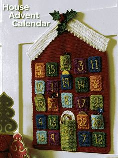 Crochet Patterns Christmas Advent Calendar - Everyone will want this colorful…