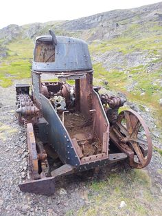 French Renault FT WWI tank Berlevag, Norway