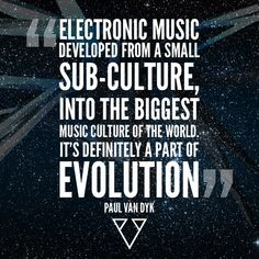 So true! Proud to be one of those belonging to the small sub-culture and being a part of EDM Evolution!