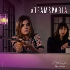 """S6 Ep15 """"Do Not Disturb"""" - If we could pick any team to search for clues, we'd definitely pick #TeamSparia. #PrettyLittleLiars"""