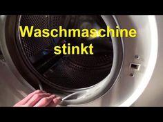 Waschmaschine stinkt riecht Waschmaschine reinigen sauber machen Schimmel - YouTube