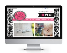 In The Pink website design and development, by The Savvy Socialista.