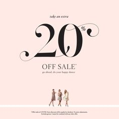 Take an additional 20% off sale!* Use code SAYIDO at check out. (*excludes gowns)