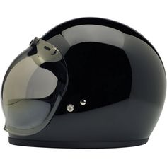 Biltwell Gringo DOT Helmet - Gloss Black • Injection-molded ABS outer shell with hand-painted finish • Expanded polystyrene inner shell • Hand-sewn brushed Lycra liner w/ contrasting diamond-stitched quilted open-cell foam padding • Meets DOT safety standards • Internal BioFoam chin pad with hand-sewn contrast stitching • Rugged plated steel D-ring neck strap with adjustment strap end retainer • Rubber edging on shell and eye port $159.95