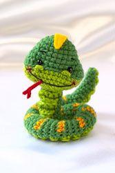 Patrón gratis amigurumi de la serpiente de fun zoo – amigurumis y más