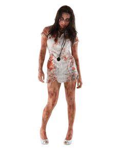 halloween zombie infermiera http://www.morelessoutfit.com/donna-come-ti-vesti-ad-halloween/