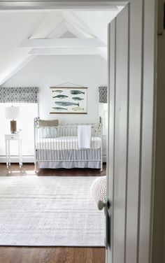 Elements of Style Blog | Nursery Inspiration: Serene or Bold | http://www.elementsofstyleblog.com