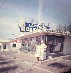 Lakeside Dairy  northwest corner of Lake Shore Dr and S Broadway (MLK Jr Dr) Decatur Illinois