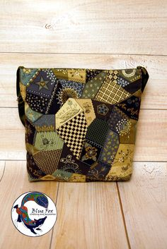 Green khaki bag, cotton shoulder bag imitation patchwork Apple bag