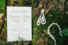 Wedding invitation - Janelle Rodriguez Photography - Belle The Magazine