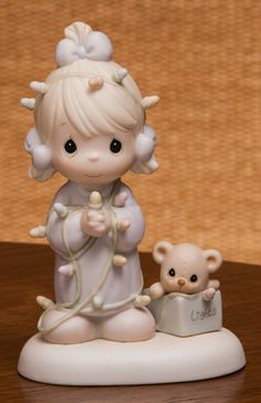 Precious Moments May Your Christmas Be Delightful Christmas Figurine 604135 by…