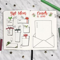 posted a new video last night where i show y'all a bunch of different holiday bullet journal spreads! link in my bio! which spread was your fave?