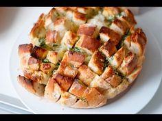Pão de alho e ervas - YouTube