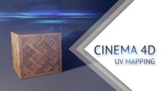 CINEMA 4D - UV Mapping (UV развёртка)