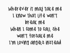 Angels - Robbie Williams.