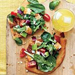 Cobb Salad Pizza Recipe | MyRecipes.com