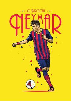 Neymar - FC Barcelona — Kieran Carroll Design
