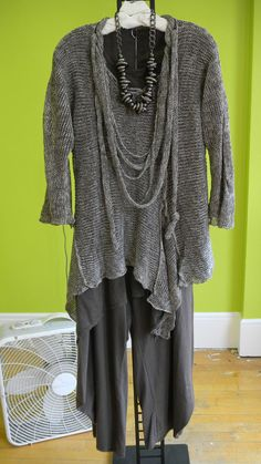 NP Tunic Sweater  M2 panel tee shirt  M2 Out There Pant  Bling necklace