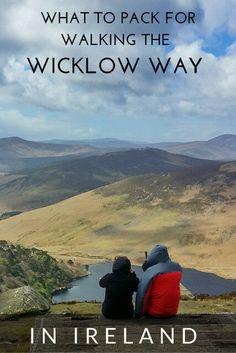 What to Pack for Your 7-Day Wicklow Way Walk via @https://de.pinterest.com/Laurel_Robbins/
