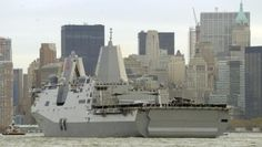 The USS New York is the Navy's newest battleship, featuring 7.5 tons of steel salvaged from the wreckage of the World Trade Center.