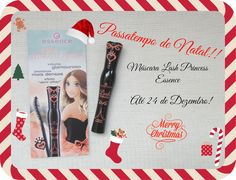 Must Be...Pink!: Passatempo de Natal!!! Essence Princess Lashes Mas...