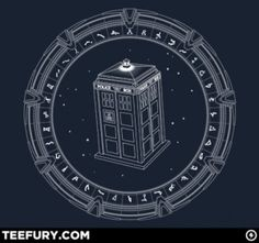 Stargate + Doctor Who = heaven. by janet