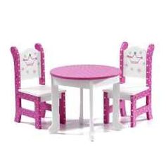 Doll furniture for 18 inch dolls is very popular today. Having a miniature doll house simply is not complete without it being furnished throughout...