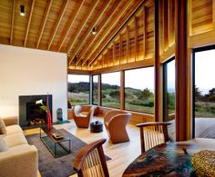 Modern Wooden House Interior Decor