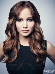 Katniss #hungergames #jenniferlawrence #wavy hair