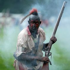 Woodlands Indian war-paint done properly. Wouldn't want to mess with him. Early American, Native American Art, American Indians, American History, Woodland Indians, Spiritual Warrior, Seven Years' War, American Frontier, Indian Tribes