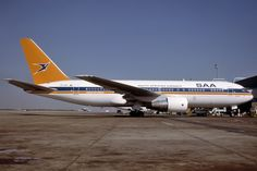 Suid Afrikaanse Lugdiens Boeing 767-200 ER Protea ZS-SRA