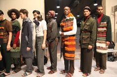 Asylum seekers walk in Florence fashion show - New-yesterday