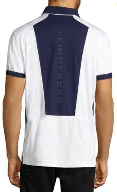 82a21cfe315 J. Lindeberg Short Sleeve Golf Polo